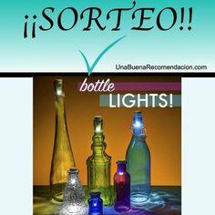 Sorteo Día del Padre: Luces Recargables USB Especial Decoración Botellas