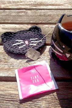 Super cute coaster!  Tiny Tea can help keep your skin looking and feeling healthy.