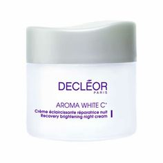 #Decleor Recovery Brightening Night Cream 50ml is an evening moisturiser to revitalise and regenerate dull looking skin.