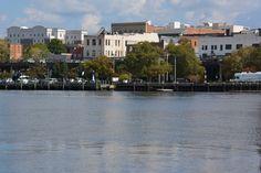 Wilmington Riverfront Downtown Wilmington Nc, Vacation Rentals, North Carolina, Mansions, House Styles, Mansion Houses, Villas, Fancy Houses, Mansion