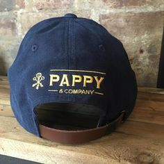 91278c5bfd11f Adjustable Navy Pappy   Company Ball Cap Bourbon Gifts