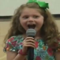 Little Girl Reunited With Soldier Dad at School Assembly