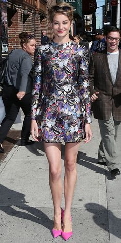 Look of the Day - May 6, 2014 - Shailene Woodley in Valentino from #InStyle