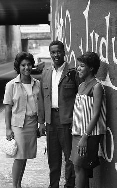 First Three African American Graduates, 1967 by Duke Yearlook, via Flickr