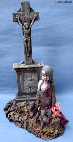 Zombies: Amy, Modell-Bausatz ... http://spaceart.de/produkte/zom002.php