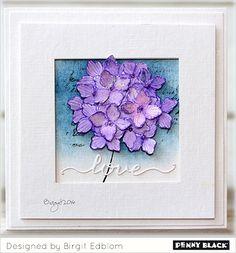 Featuring stamps and dies from Penny Black's newest collection... click through for more ideas!