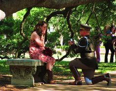 My dream, a Century Tree proposal, came to life! WHOOP! :D   ~CBB & KAF 4/20/13~