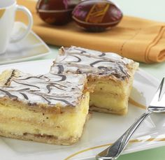 Bécsi krémes – Receptletöltés Tiramisu, French Toast, Food And Drink, Cooking Recipes, Sweets, Cheese, Breakfast, Cake, Ethnic Recipes