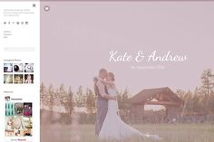 Wedding Tumblr Theme by Themelantic on @creativemarket