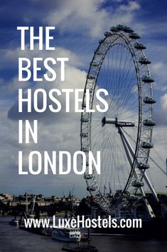 Visiting London is a bucket list worthy city that can sometimes burn a hole in your pocket. Here is a list of the best budget-friendly accommodations that will allow you to travel the city in style without breaking your budget London Calling, Europe Travel Tips, Best Budget, London Travel, Hostel, Travel Ideas, Budgeting, Traveling, Bucket