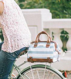 Weatherproof bike bag