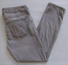 "Gap 1969 Always Skinny Jeans 28 Skimmer Stormy Grey Gray Ankle Denim 2014 27"" #GAP #CapriCroppedLeggingsSlimSkinny"
