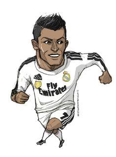 Real Madrid CF no.7 Cristiano Ronaldo fan art