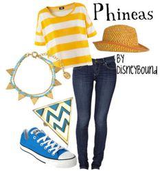 DisneyBound: Phineas
