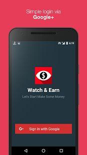 Watch & Earn - Earn Real Money- screenshot thumbnail