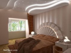 8 Fabulous Tricks Can Change Your Life: False Ceiling Corridor Living Rooms metal false ceiling design.Metal False Ceiling Design false ceiling bedroom other.False Ceiling Luxury Home Theaters. Bedroom False Ceiling Design, False Ceiling Living Room, Bedroom Bed Design, Bedroom Ceiling, Modern Bedroom, Ceiling Plan, Ceiling Ideas, Ceiling Lights, Office Light