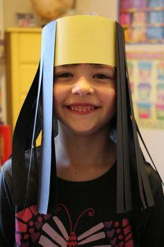 """Spark and All: """"Samson's Hair"""" Craft samson Sunday School Projects, Sunday School Kids, Sunday School Activities, Sunday School Lessons, Bible School Crafts, Bible Crafts For Kids, Preschool Bible, Bible Lessons For Kids, Bible Activities"""