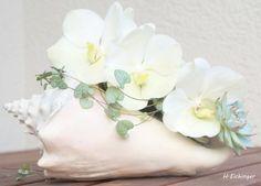 Brautstrauß Muschel