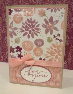 HAPPY HEART CARDS: STAMPIN' UP! BLOOMS & BLISS