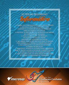 #TipsDeNegocios 10 tips de seguridad informática