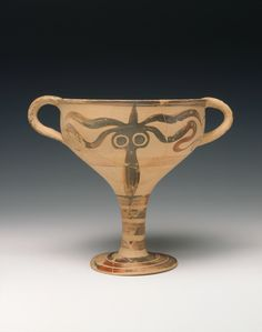 Goblet with octopus decoration, Mycenaean, 13th century B.C.