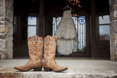 Make sure to break in boots weeks before wedding Wear the boots with my dress before alterations are made! on a side not i LOVE this picture! Wedding Boots, Wedding Pics, On Your Wedding Day, Wedding Bride, Dream Wedding, Wedding Ideas, Bride Pictures, Before Wedding, Wedding Crashers