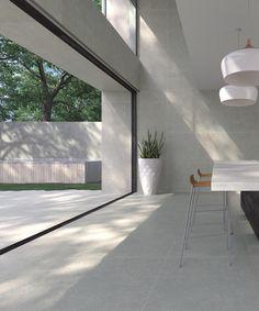 Polished concrete floor: waxed concrete tiles Source by elkedetre Polished Concrete Tiles, Concrete Look Tile, Concrete Floors, Concrete Kitchen Floor, Ceramic Kitchen Floor Tiles, Large Kitchen Tiles, Plywood Floors, Concrete Lamp, Stained Concrete