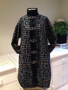 Mary Boalt designed-Thanks Helen Papke for your denim and hardware ideas for this Marcy Tilton coat pattern.