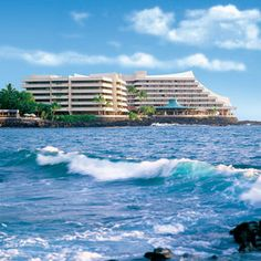 Royal Kona Resort - Kona, Hawaii...Loved our stay with an ocean view room and balcony! :)