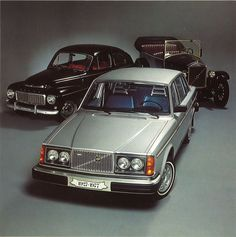 """Progress by Evolution"": 1977's 50 years of Volvo Cars brochure"