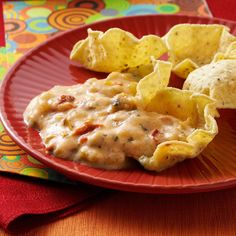 Chili con Queso El Dorado Recipe -Used as a dip or a sauce on burgers, chicken or pork, this creamy queso is spiced with chilies, chipotle peppers and hot pepper sauce. —Carolyn Kumpe, El Dorado, California