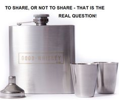 Good Whiskey - best shared - http://www.amazon.com/Good-Whiskey-Brand-Stainless-Steel/product-reviews/B010EJLX6G/ref=cm_cr_dp_synop?ie=UTF8&showViewpoints=0&sortBy=bySubmissionDateDescending#R3PEKUL6AP2CTQ
