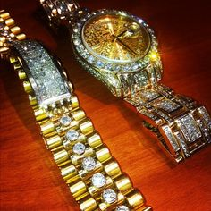 Blinged Out Rapper | Check out Big Sean's other iced out big face Rolley after the jump!