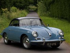 1961 Porsche Notchback - Karmann bodied 356 hardtop coupe was introduced in 1960 Tags: Porsche 356 Outlaw, Porsche Factory, Classic Cars, Porsche Classic, Vintage Porsche, Amazing Cars, Cars And Motorcycles, Cool Cars, Retro