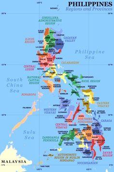 Map of Surigao del Norte  Philippine Maps  Pinterest