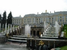 One of the Romanov Palaces, Russia, 2009. Amy M. Powell
