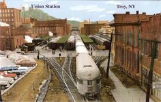 *Troy Union Station - Pictures of Businesses and Other Services Around the Railroad*
