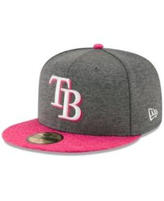 New Era Tampa Bay Rays Mother's Day 59FIFTY Cap - Gray 7 1/4