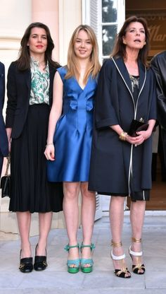 Charlotte Casiraghi, Andrea Casiraghi, Monaco Princess, Princess Caroline Of Monaco, Princess Charlotte, Beatrice Borromeo, Royal Fashion, Girl Fashion, Grace Kelly Granddaughter