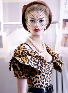 Dior haute couture, Fall 2009: the Mitzah Bricard-inspired collection.