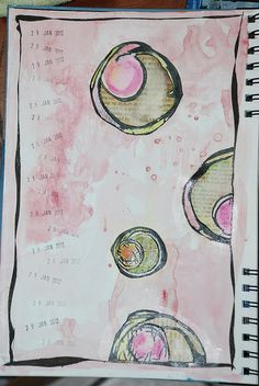 page 4 for art journal 2012
