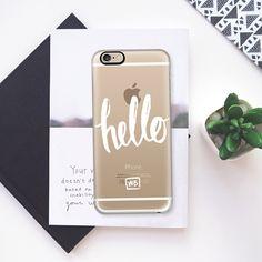 Hello - Transparent - Classic Snap Case