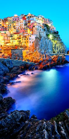 20 Most Beautiful Places in Italy Manarola, Cinque Terre, Italy Clinque Terre is located on the coast of Ligurian Sea in eastern part of Italian Riviera called Riviera di Lavante. Its colourful. Places Around The World, Travel Around The World, Around The Worlds, Places To Travel, Places To See, Travel Destinations, Travel Tips, Dream Vacations, Vacation Spots