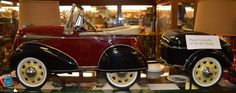 Two Piece Pedal Car w Trailer - Restored - ON SALE!  Was $2900.00, Now $2000.00.  It is Beautiful!