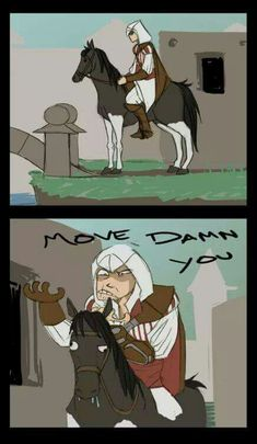 Love his face, exactly mine too. All Assassin's Creed, Assassins Creed Memes, Bts Girl, Call Of Duty, Video Games, Funny Pictures, Fandoms, Gaming, Videogames