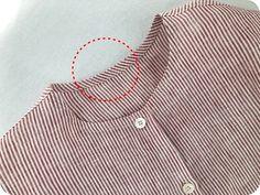 얇은 원단 인바이어스 하기~(반접어 인바이어스 하기) : 네이버 블로그 Tunic Sewing Patterns, Blouse Patterns, Fabric Patterns, Sewing Basics, Sewing Hacks, Sewing Tutorials, Dress Neck Designs, Mode Hijab, Sewing Techniques