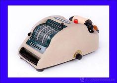 Encantadora máquina sumadora Addical 7 con impresora incorporada. Funcionando. - Foto 1