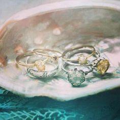 Cute rings from free people's Instagram