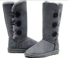 BOTAS invierno grises GAMUZA