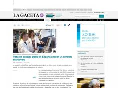 The Spanish Leticia Diaz, who had been working for free one and a half, has been hired to do a project on autism genes.